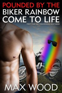 pounded by the rainbow biker